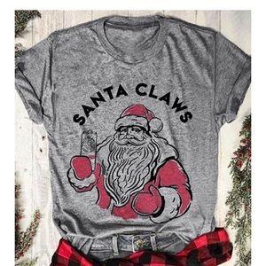 🆕 Santa CLAWS T-Shirt